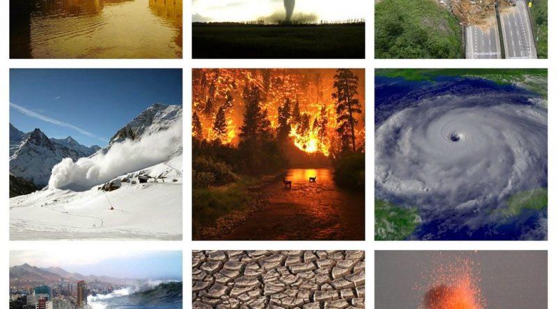 Los Fenómenos naturales y los desastres -1